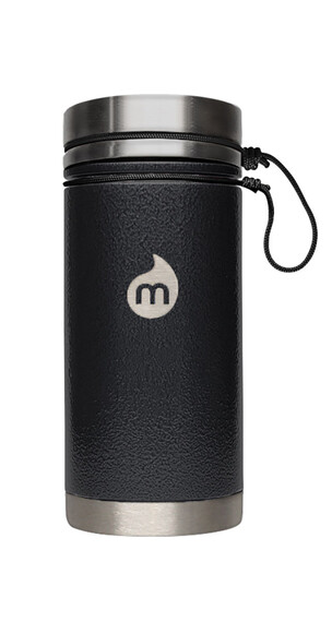 MIZU V5 Insulated Bottle 500ml Black Hammer Paint